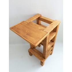 Jídelní stolek na učící věž - lazura