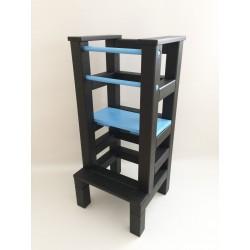 Učící věž - modročerná barva