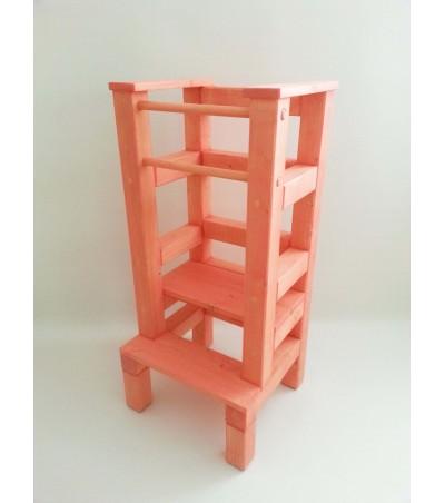 Učící věž - růžová lazura