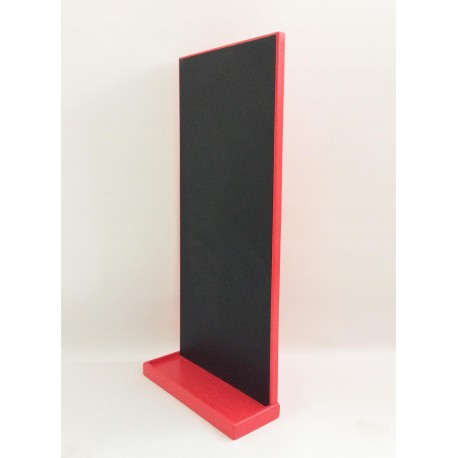 Magnetická tabule na učící věž - červená barva