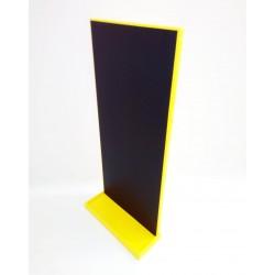 Magnetická tabule na učící věž - žlutá barva
