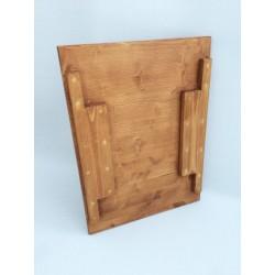 Odkaládací stolek na učící věž - lazúra s povrchovým lakom