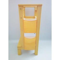 Kapsář na učící věž - žlutý