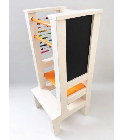 Učící věž FUN - oranžovobéžová