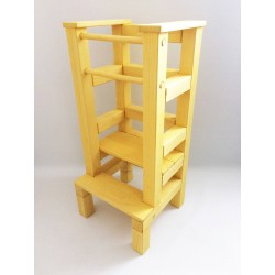 Učiaca veža - žltá lazúra s...