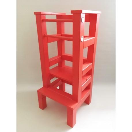 Učící věž – červená barva