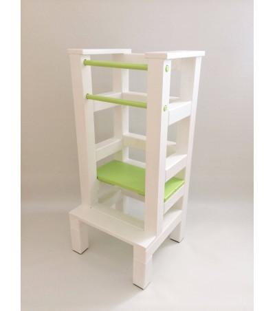 Učící věž - zelenobílá barva