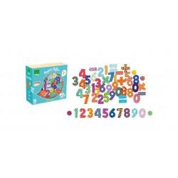 Magnetky na tabuli k učící věži - čísla