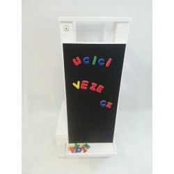 Magnetky na tabuli k učící věži - písmena