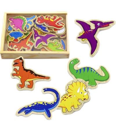 Magnetky na tabuli k učící věži - dinosauři